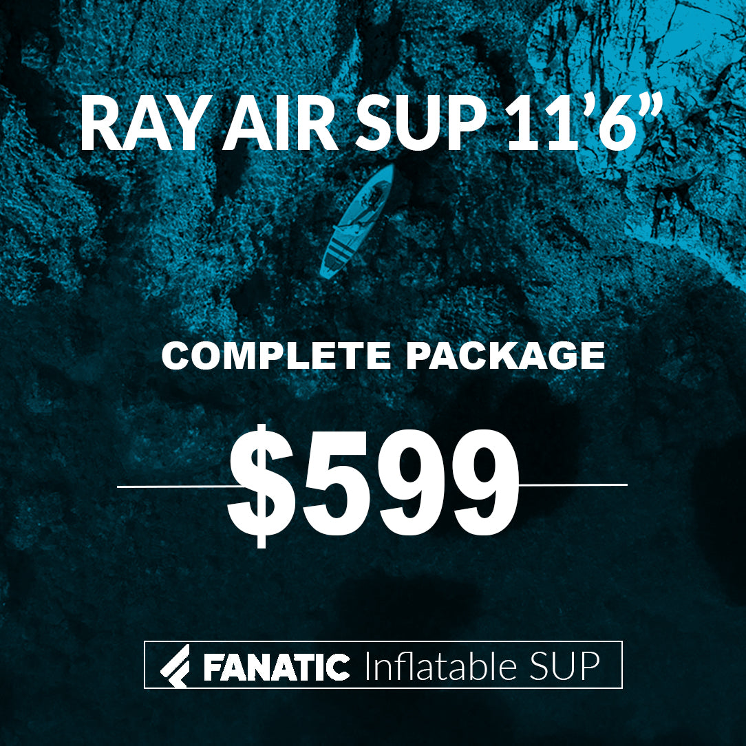 Fanatic Inflatable SUP Package