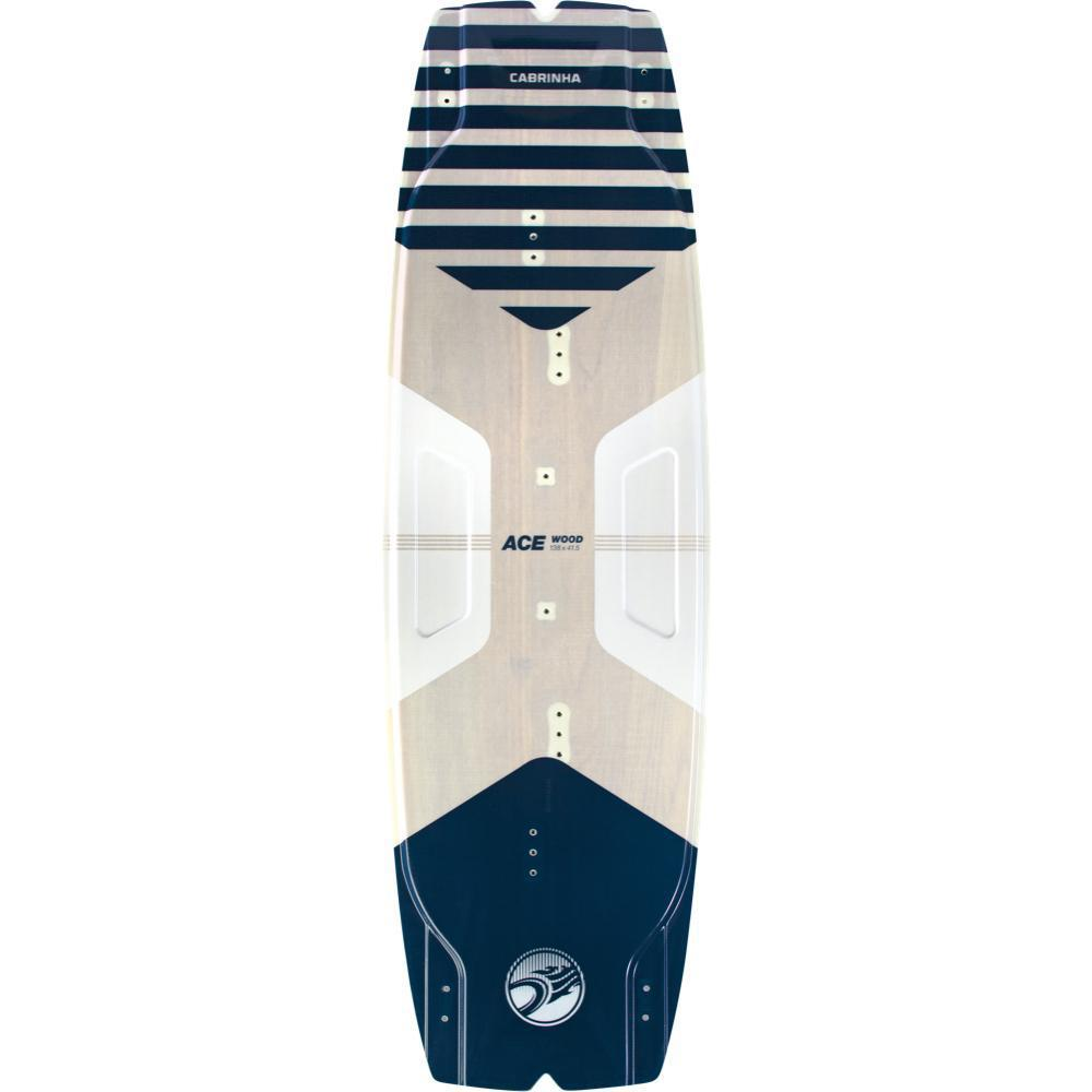 2020 Cabrinha Ace Wood Twin Tip Kiteboard-Big Winds
