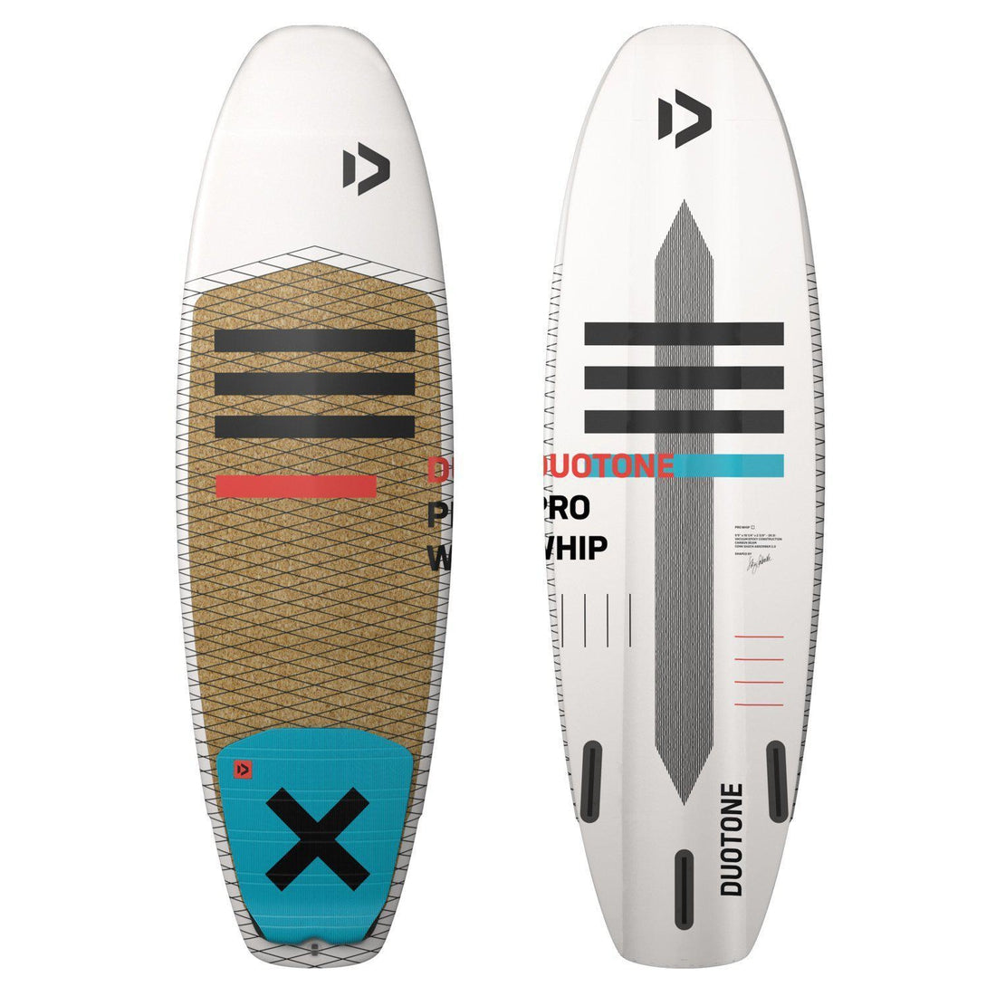 2020 Duotone PRO WHIP Strapless Kite Surfboard-Big Winds