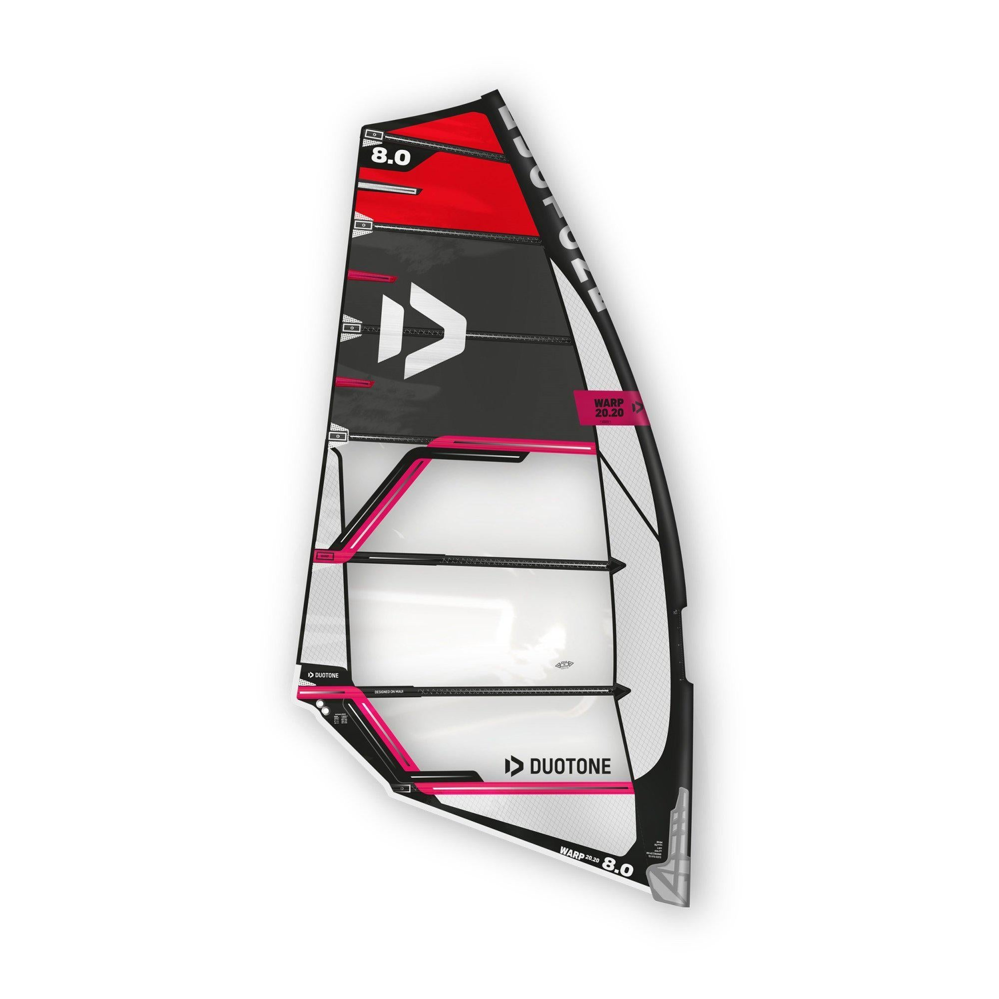 2020 Duotone Warp 20.20 Windsurfing Sail-Big Winds