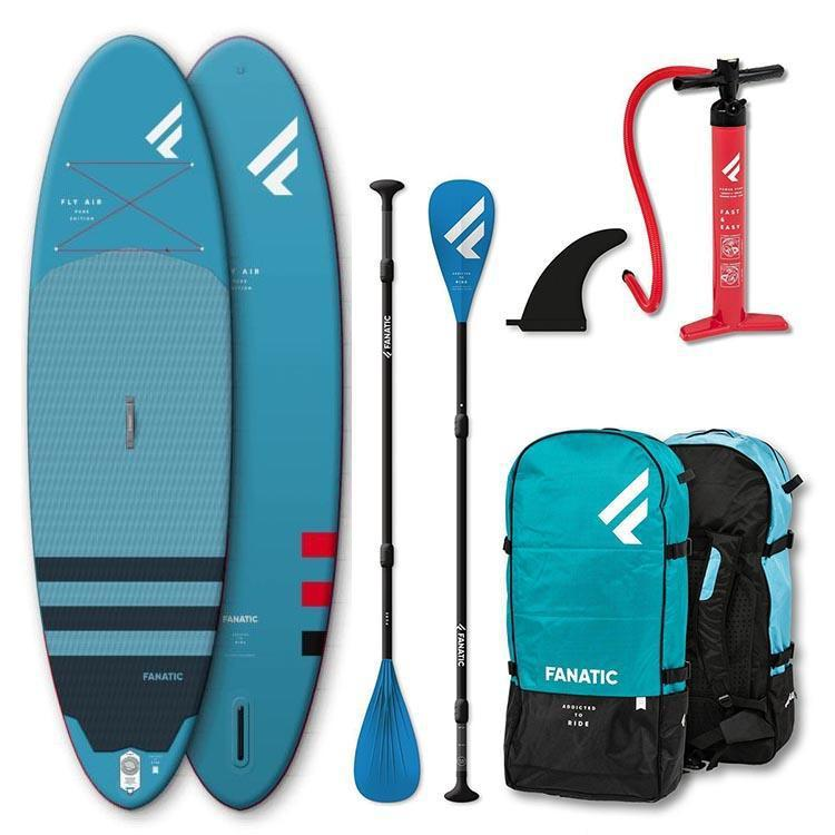2020 Fanatic Fly Air Inflatable SUP Package-Big Winds