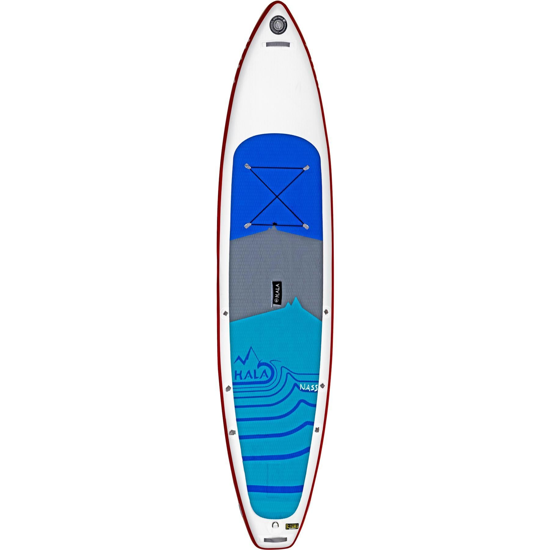 2020 HALA Rival Nass Inflatable Paddleboard-Big Winds
