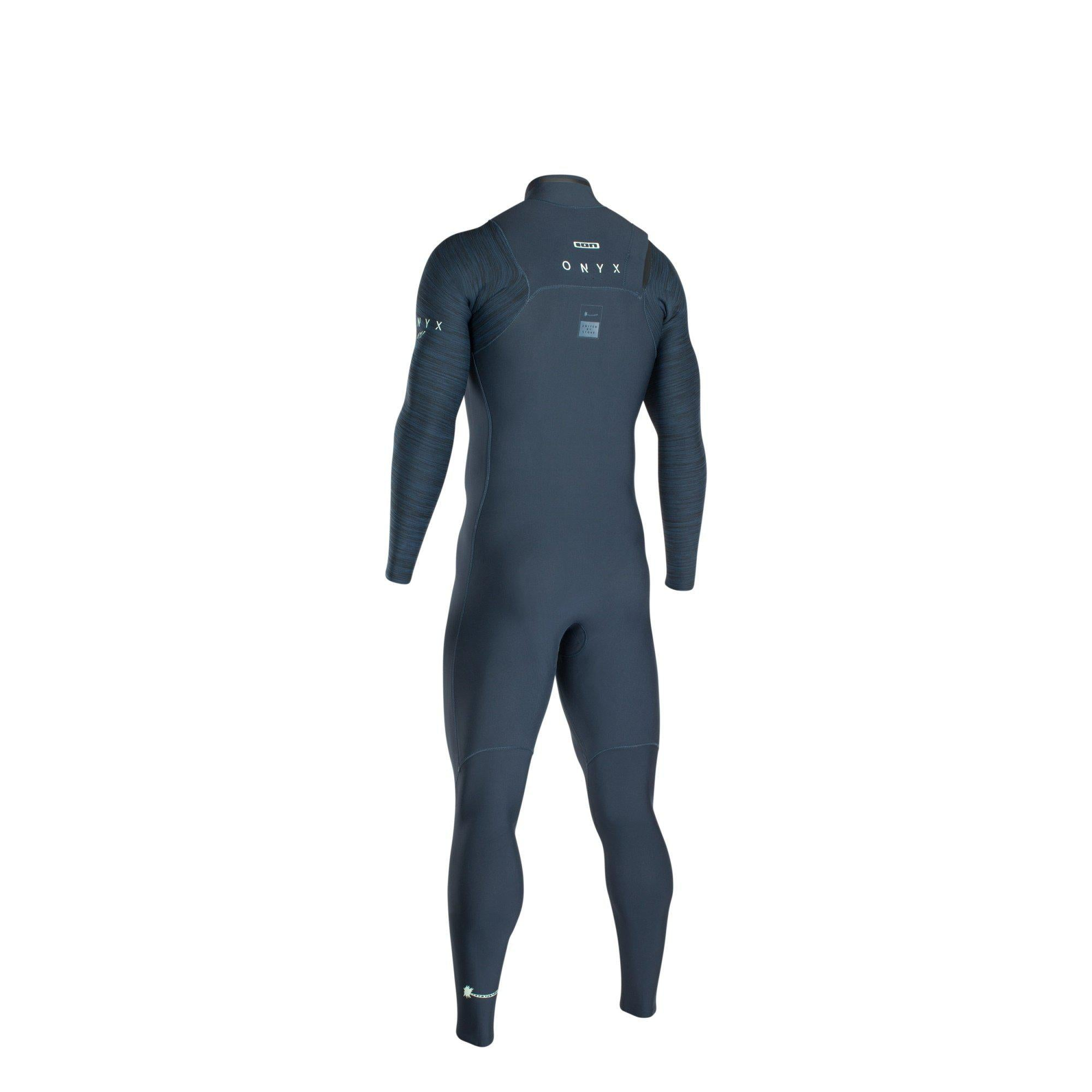 2020 Ion ONYX AMP SEMIDRY 4/3 FRONT ZIP WETSUIT-Big Winds