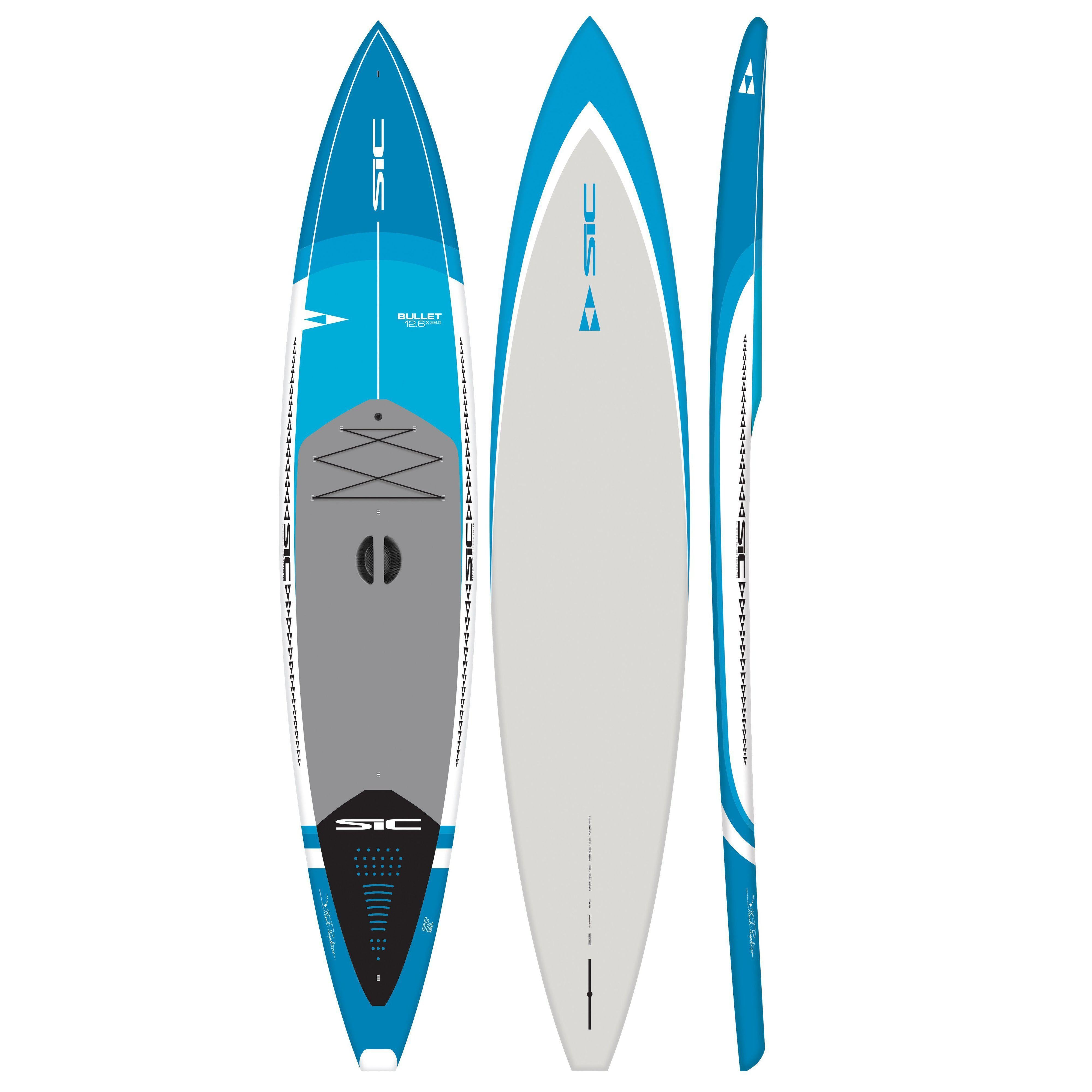 "2020 SIC Bullet 12'6'' x 28.5"" Paddle Board-Big Winds"
