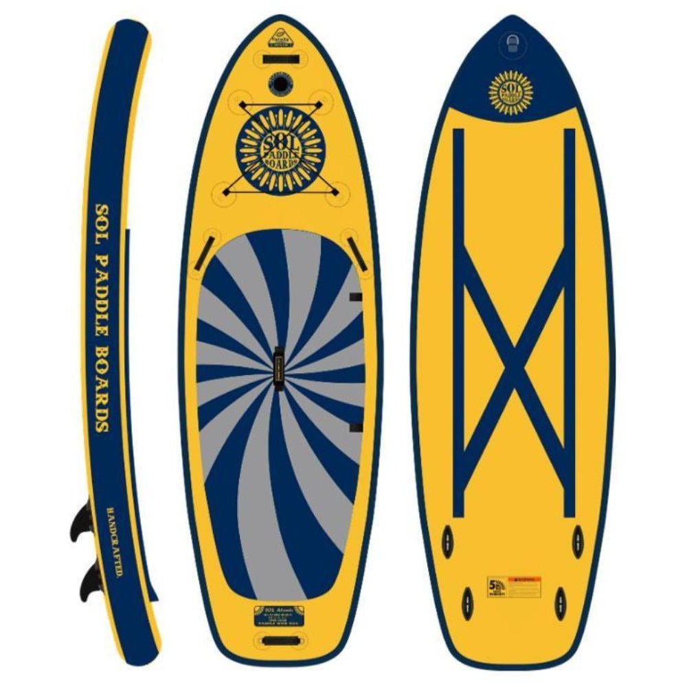 2020 SOL Atomic Galaxy Inflatable SUP Board-Big Winds