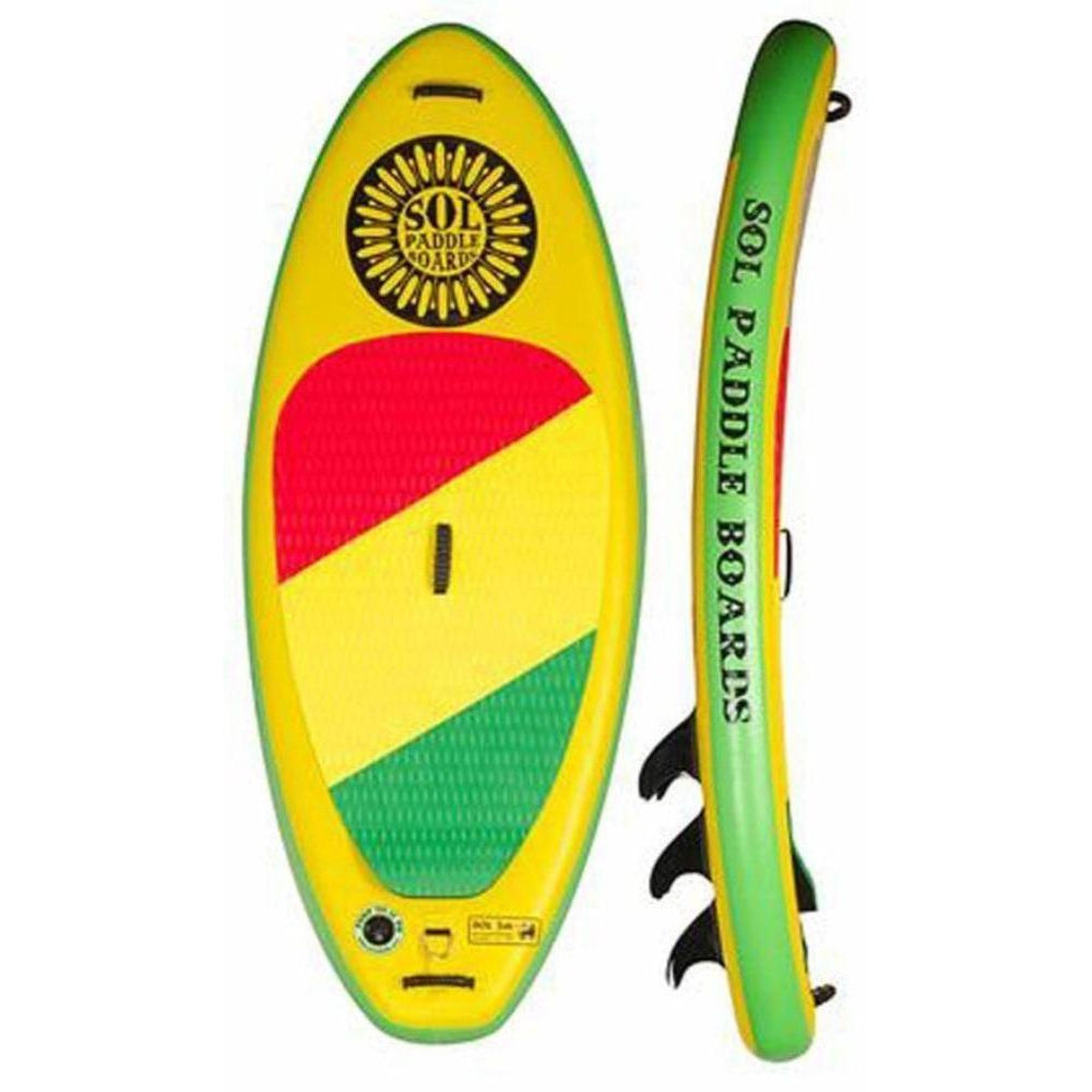 2020 SOL jah Inflatable SUP Board-Big Winds