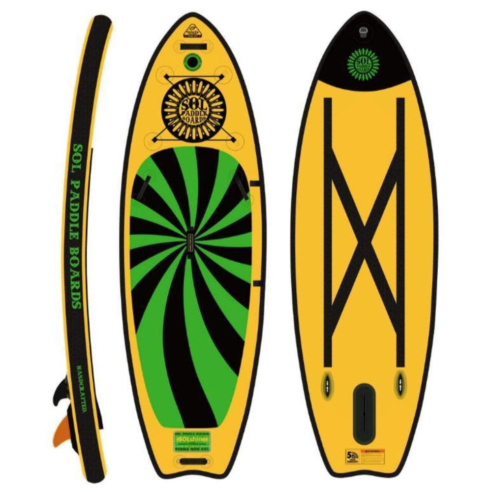 2020 SOL Shine Carbon Galaxy Inflatable SUP Board-Big Winds