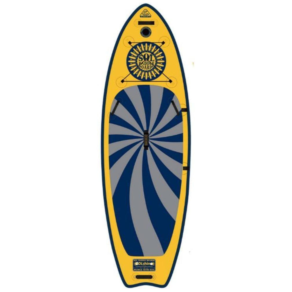 2020 SOL Shine Galaxy Inflatable SUP Board-Big Winds