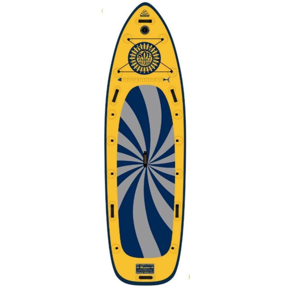 2020 SOL Sombrero Galaxy Inflatable SUP Board-Big Winds