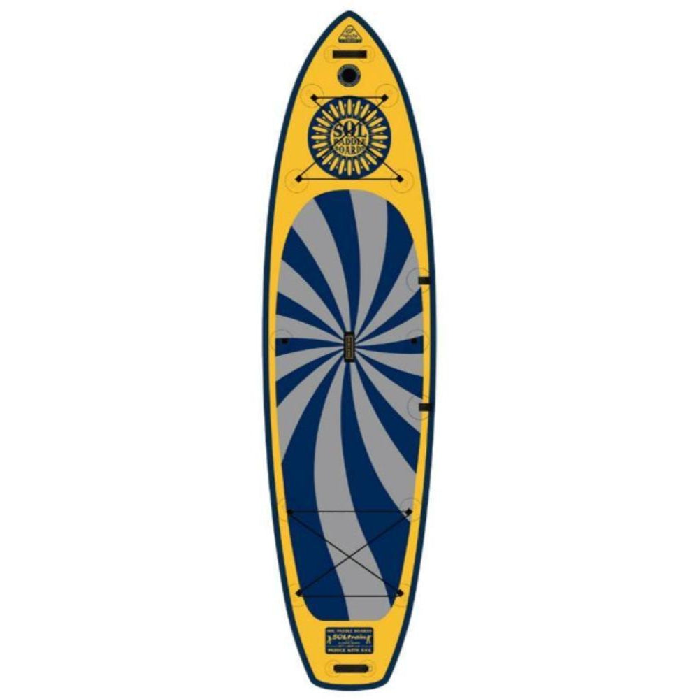 2020 SOL Train Galaxy Inflatable SUP Board-Big Winds