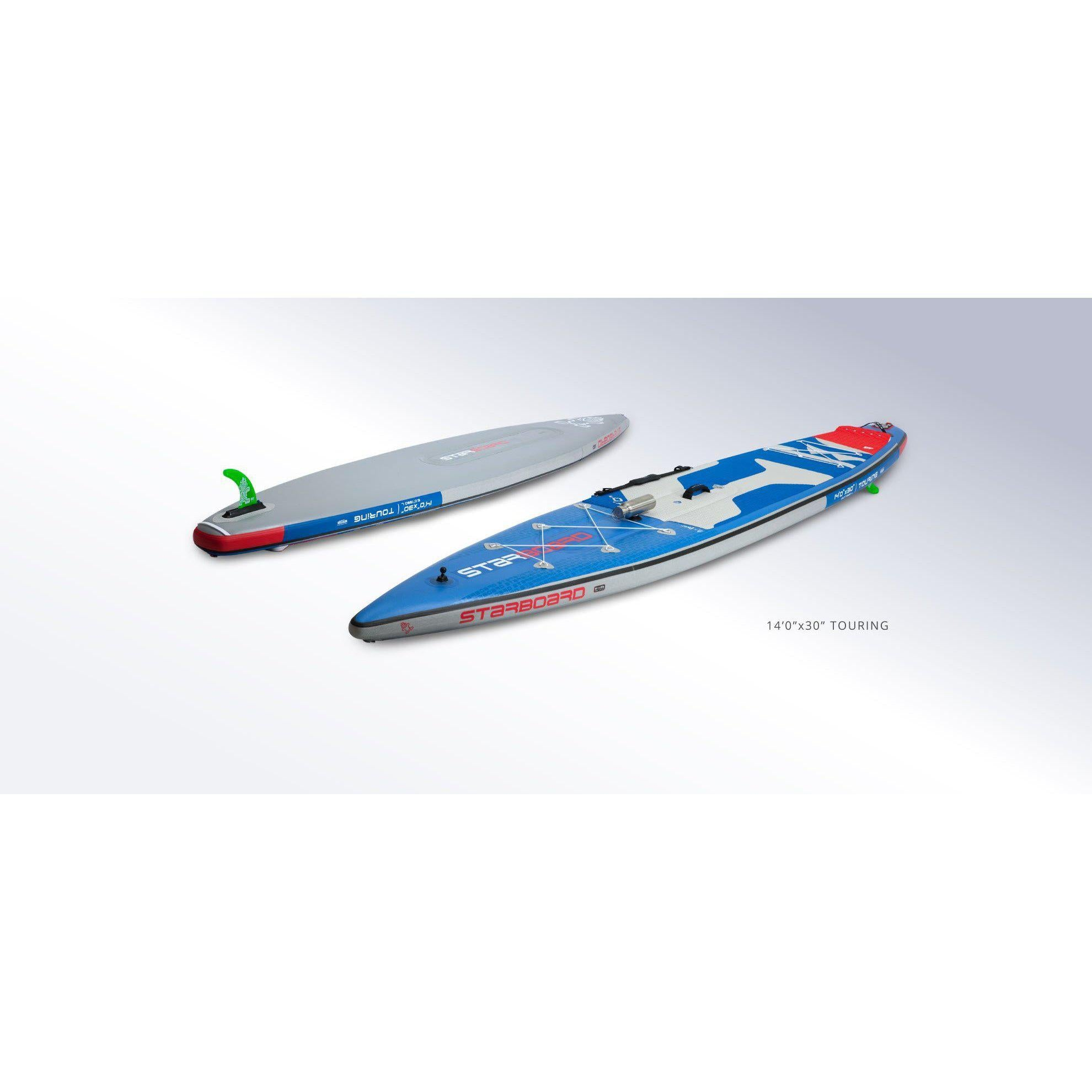 2020 Starboard IGO Tour Inflatable Paddle Board-Big Winds
