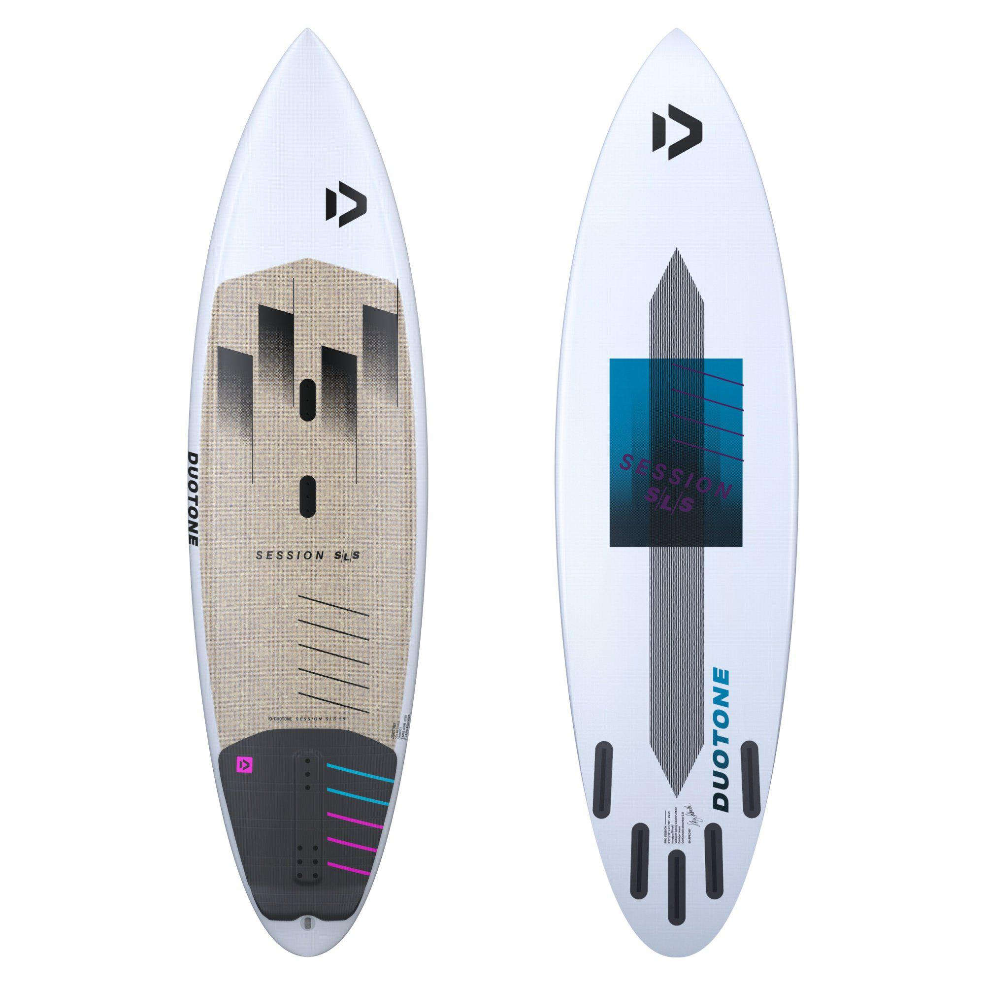 2021 Duotone Session SLS Kite Surfboard-Big Winds