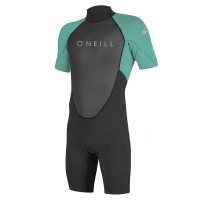 O'NEILL YOUTH REACTOR II 2MM BACK ZIP SHORT SLEEVE SPRING WETSUIT