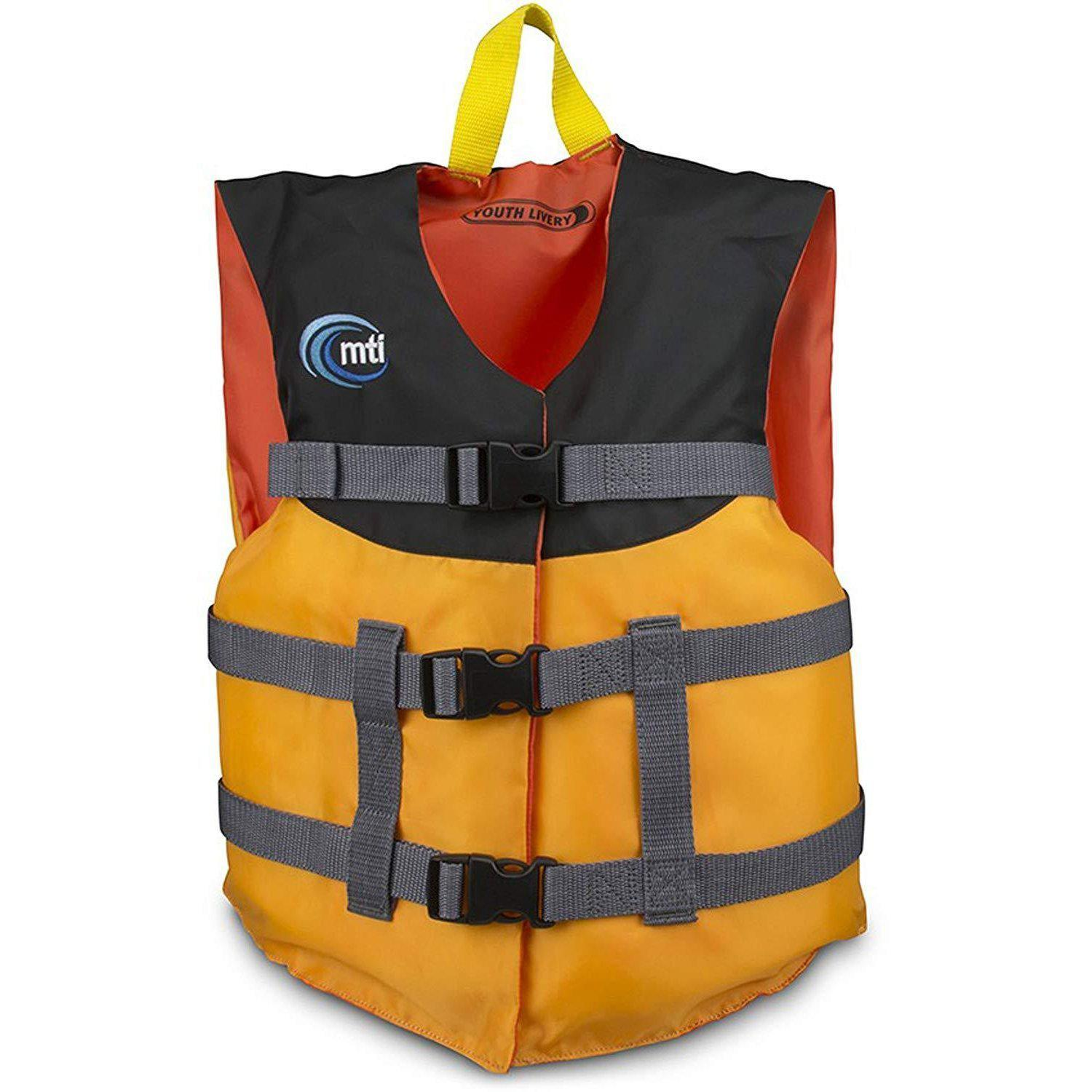 MTI Adventurewear Youth Livery Life Jacket-Big Winds