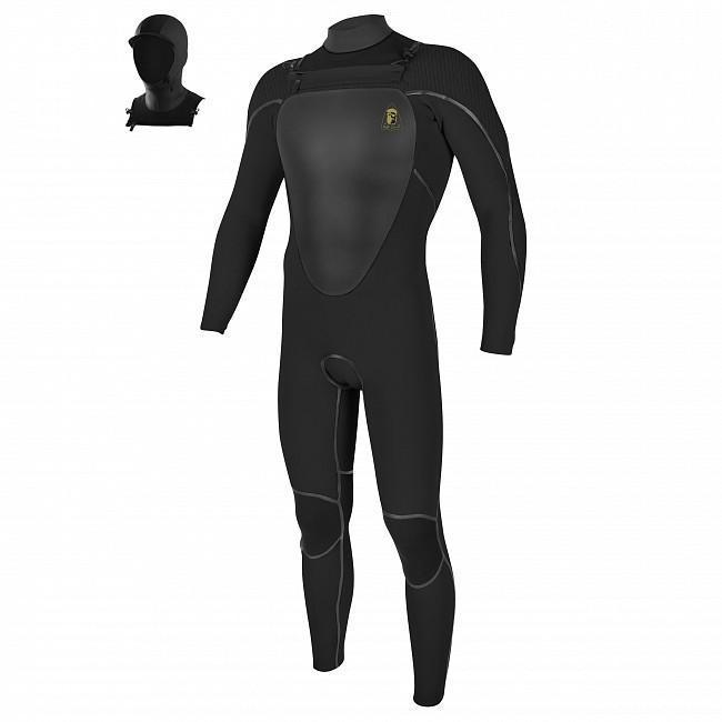 O'Neill Mutant Legend 4.5/3.5 Hooded Wetsuit-Big Winds