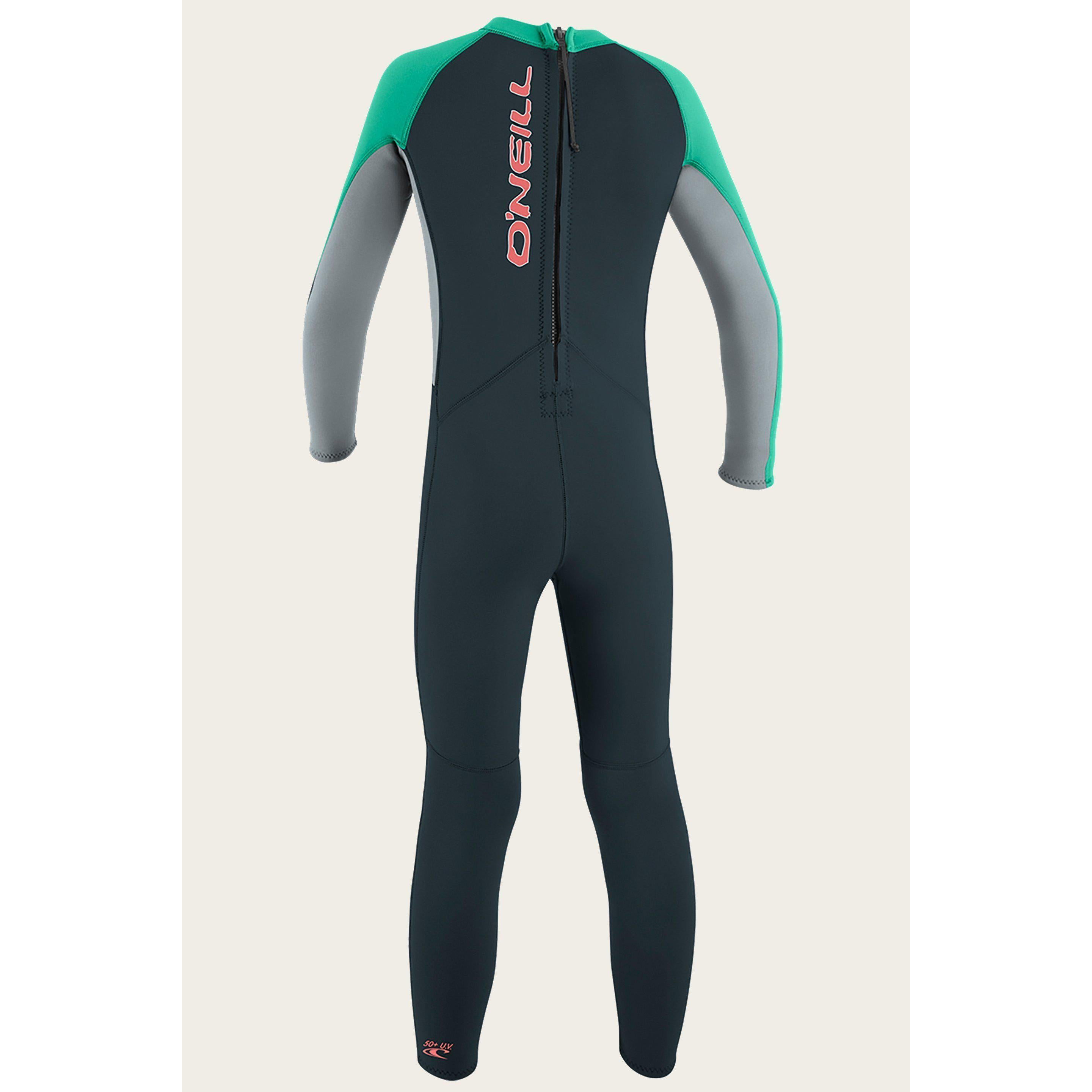 O'NEILL TODDLER REACTOR II 2MM BACK ZIP FULL WETSUIT-Wetsuits-Big Winds