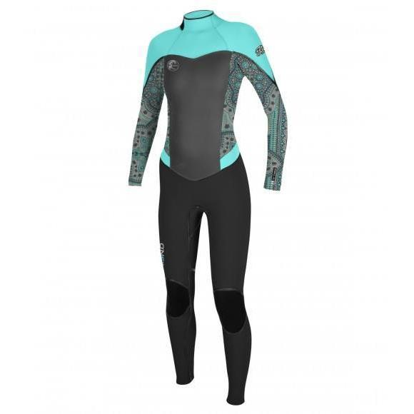 O'Neill Women's Flair Z.E.N. Zip 4/3 FSW-Big Winds