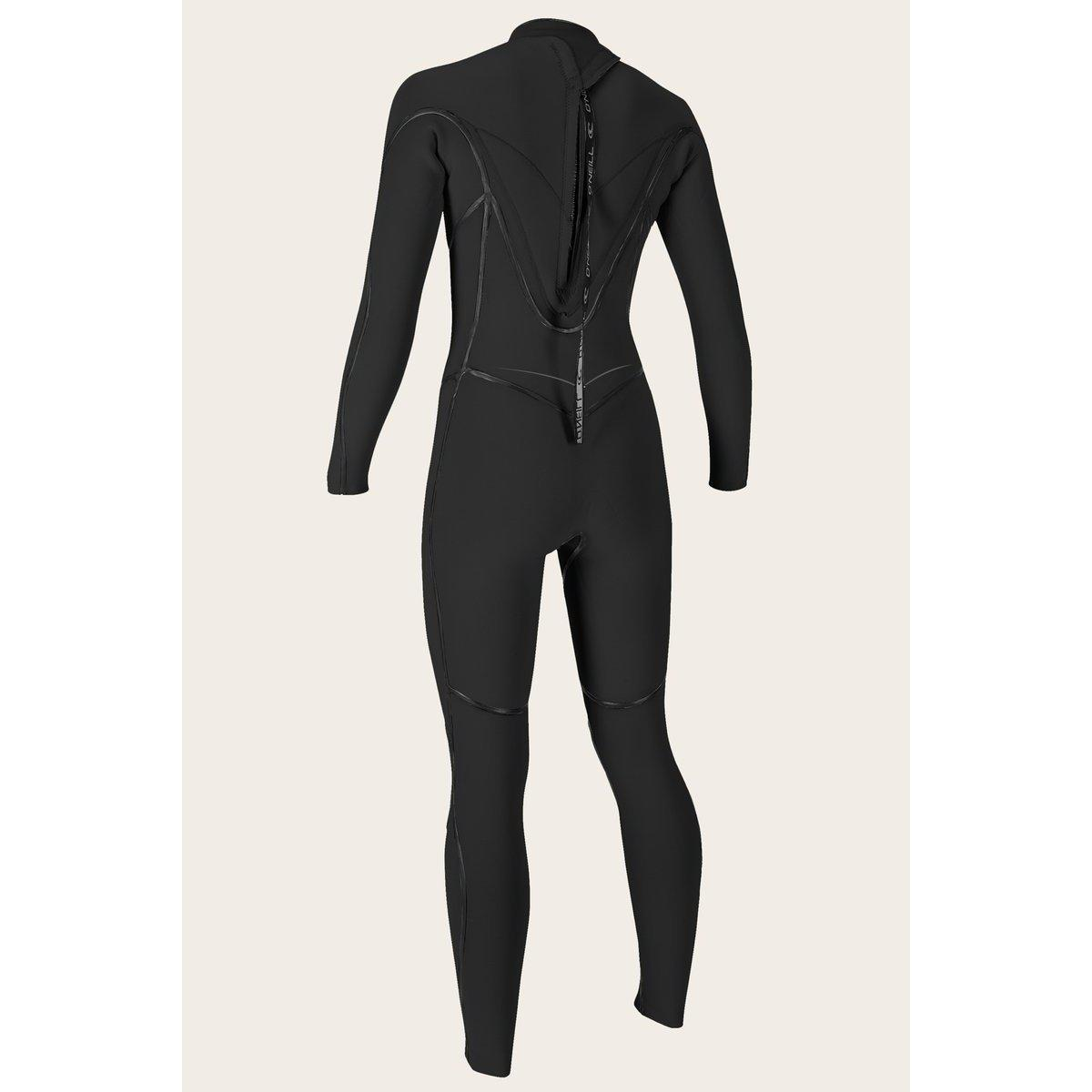 O'Neill Women's Psycho One 4/3 Back Zip Full Wetsuit-Big Winds