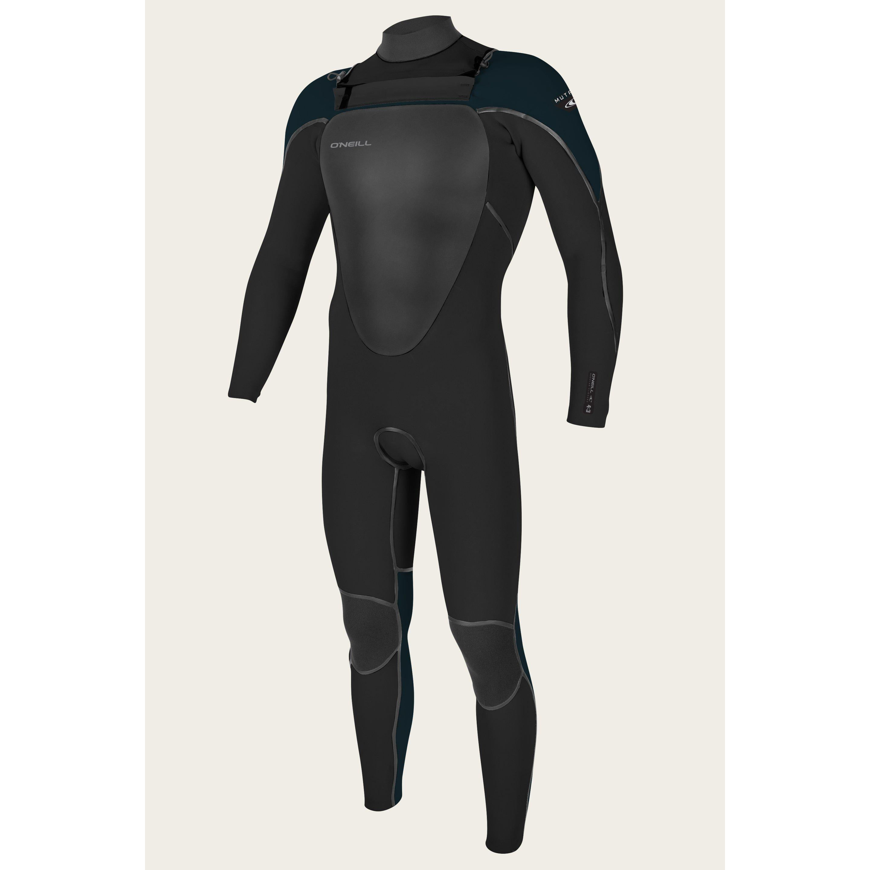 O'NEILL YOUTH MUTANT 5/4/3MM CHEST ZIP FULL W/HOOD WETSUIT-Wetsuits-Big Winds