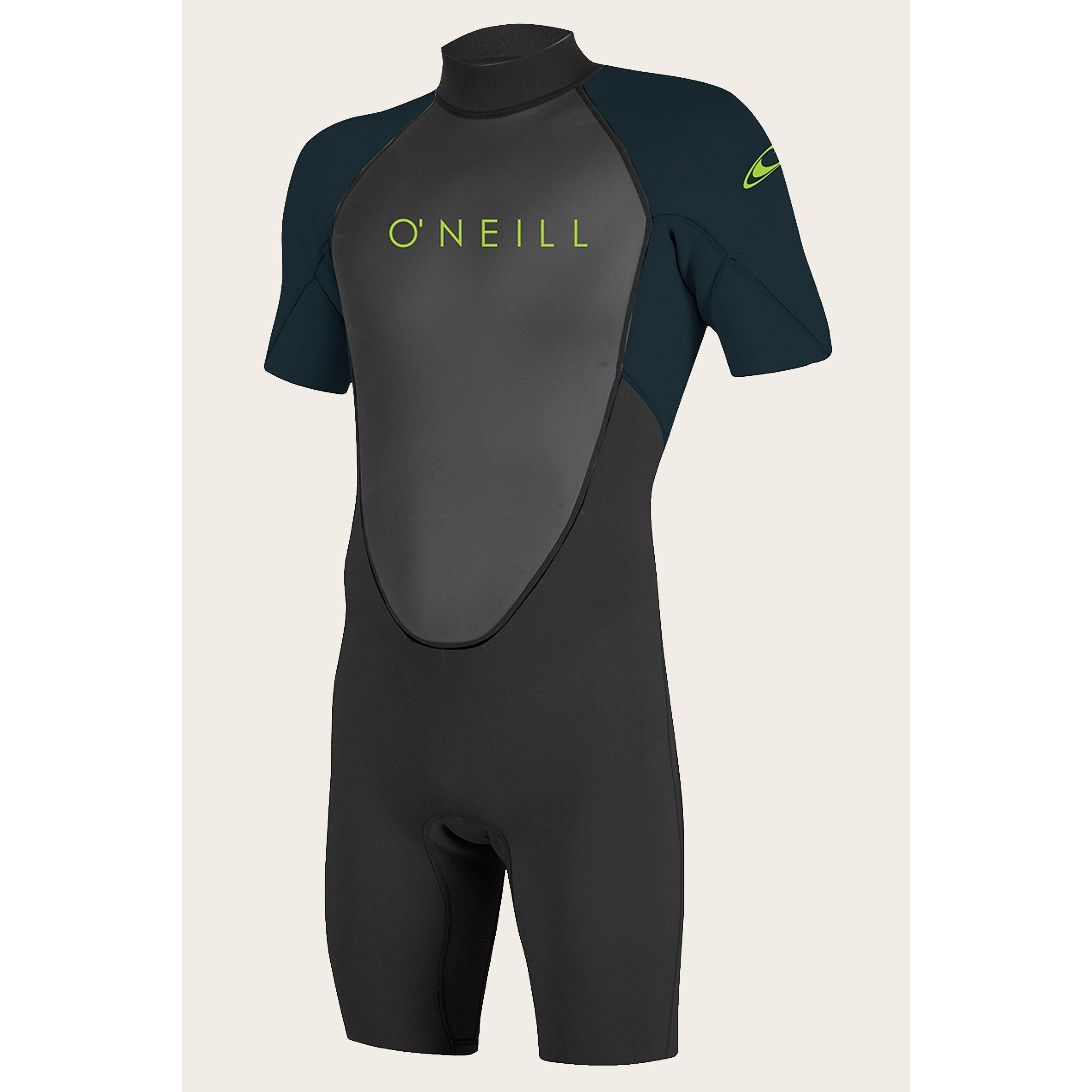 O'NEILL YOUTH REACTOR II 2MM BACK ZIP SHORT SLEEVE SPRING WETSUIT-Wetsuits-Big Winds