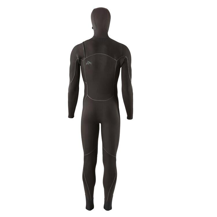 Patagonia Men's R2® Yulex® Front-Zip Hooded Full Wetsuit-Big Winds