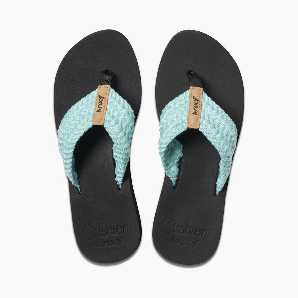 REEF Women's Cushion Threads Sandal-Big Winds
