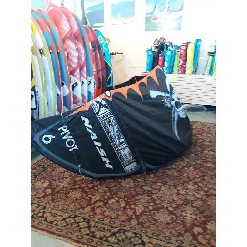 S25 Naish Pivot 6m Kiteboarding Kite DISPLAY-Big Winds