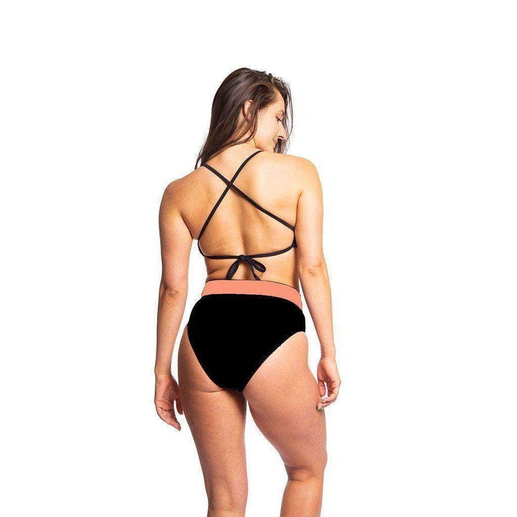 Sensi Graves Tassie Eco-Friendly High Waisted Bikini Bottom-Big Winds