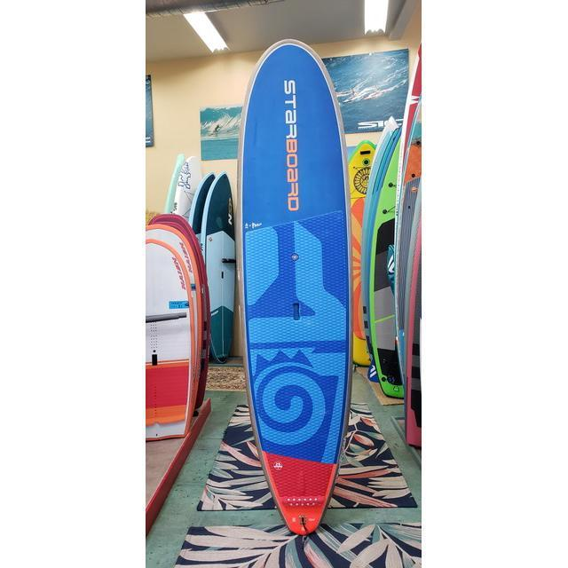 Used 2019 Starboard Longboard Carbon Balsa Paddle Board-Big Winds