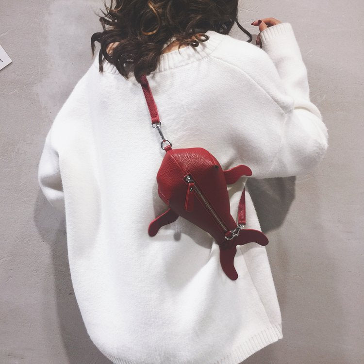 Cute Beluga Whale Bag