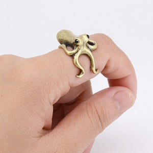 Cute Baby Octopus Ring