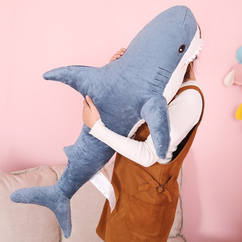 Shark Stuffed Plush Toy Pillow