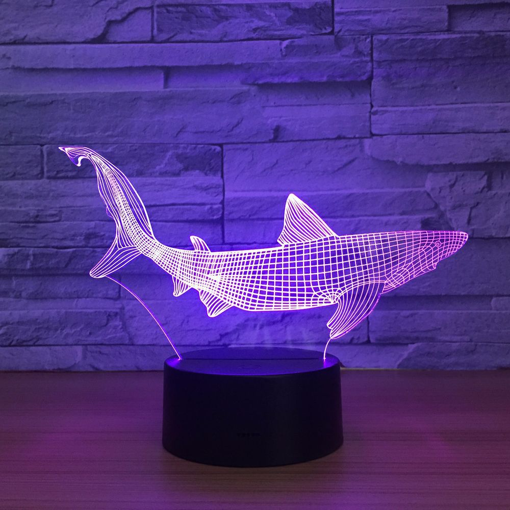 Shark 3D LED Light