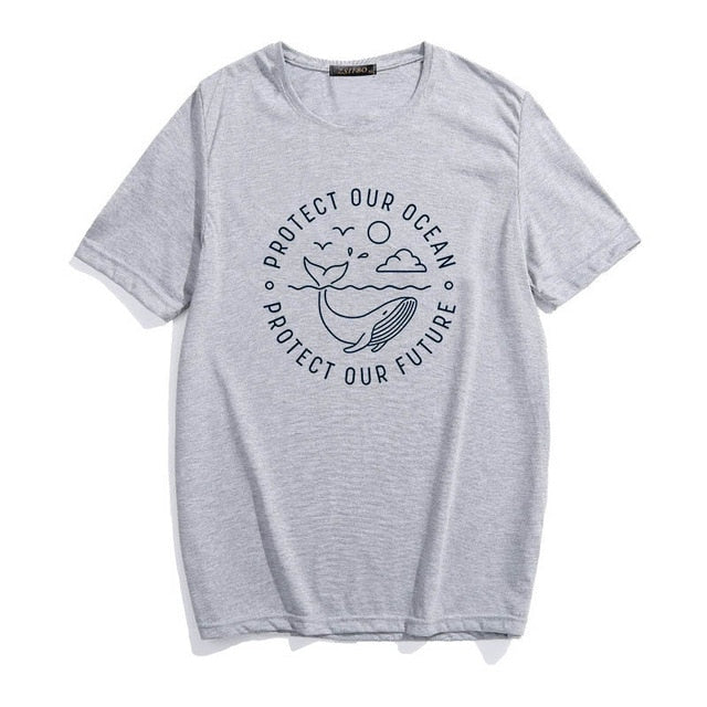Protect  Our Ocean T-Shirt. - Ocean Autograph