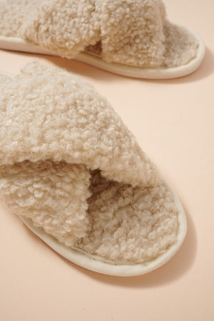 Cashmere Sherpa Slippers