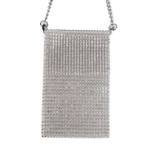 Crystal Mobile Crossbody Bag