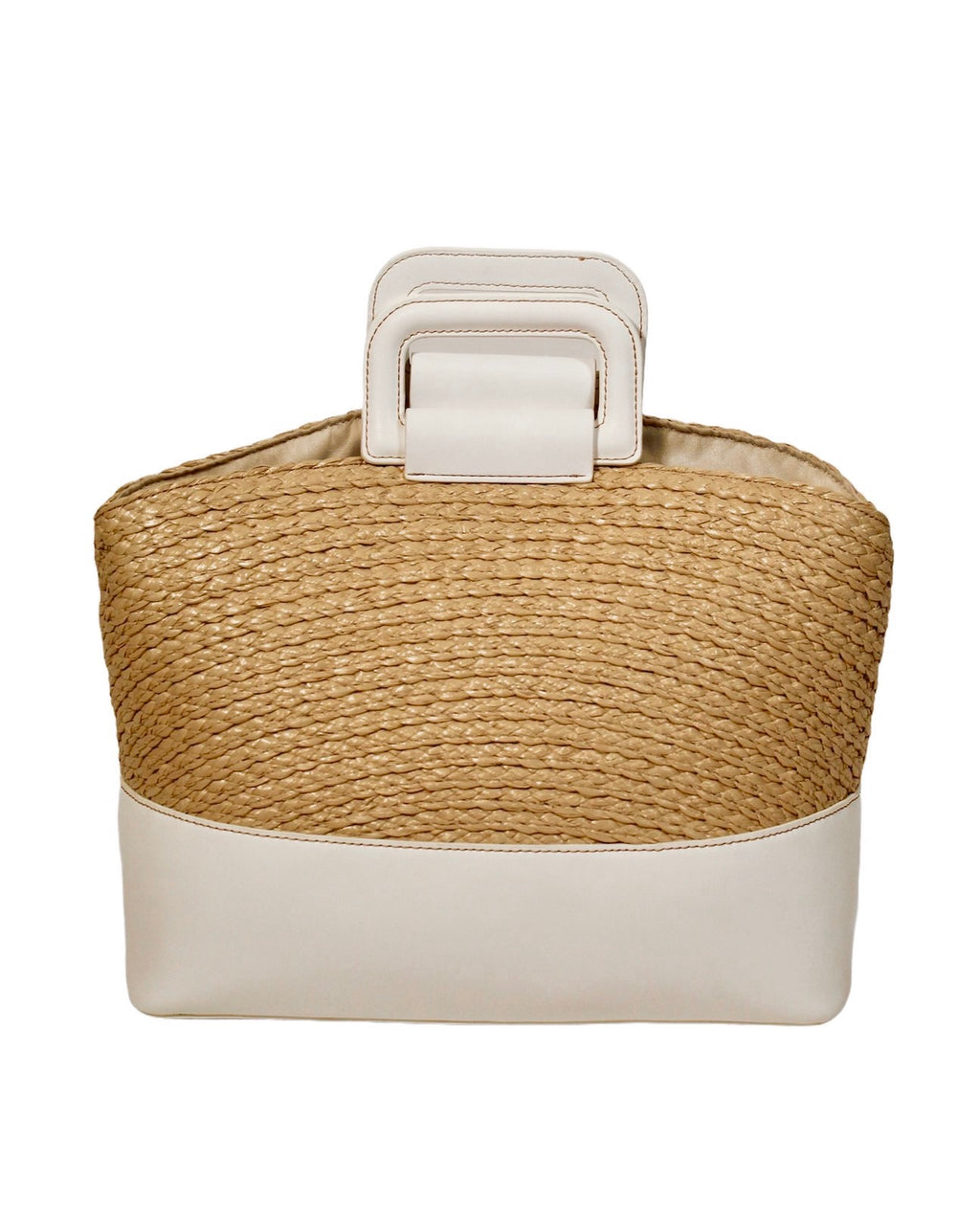 Hamptons Woven Straw Tote