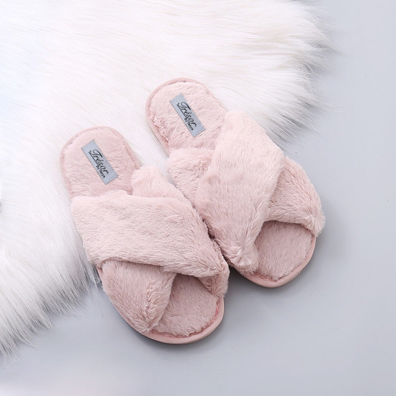 Furry At Home Slippers