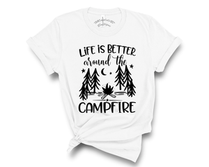 """Life Is Better Around The Campground""  Tee"
