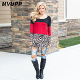 Mommy & Me Leopard Tunic Top
