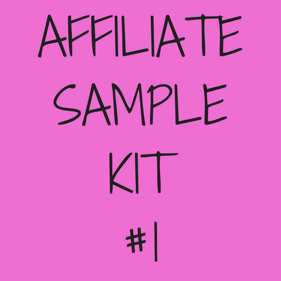Affiliate Sample Kit #1