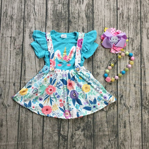 Unicorn Bunny Skirt Outfit