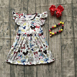 Disney Inspired Cartoon Dress