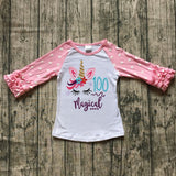 """100 days Magical"" Unicorn Top"