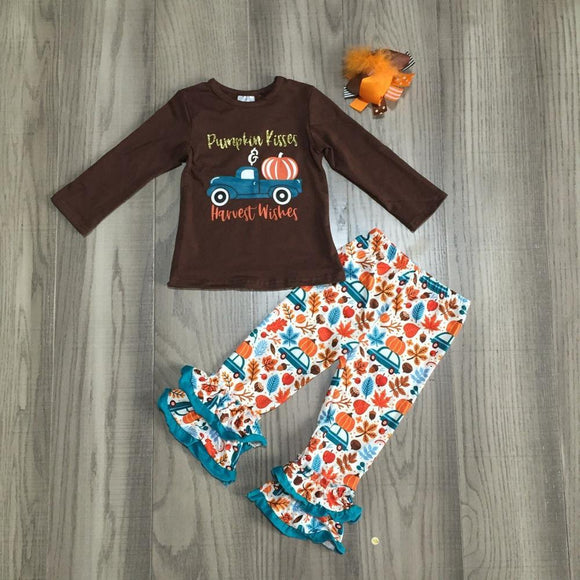 """Pumpkin Kisses &  Harvest Wishes"" Outfit"