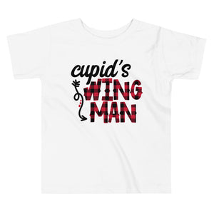 Cupid's Wing Man Toddler Tee