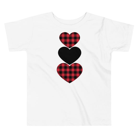 Buffalo Paid Hearts Toddler Tee