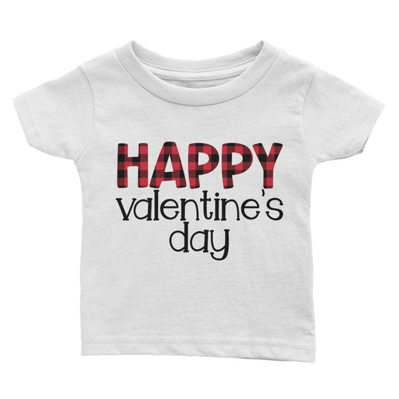 Happy Valentine's Day Infant Tee