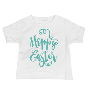 Hoppy Easter Infant Tee - Mint - MANY COLORS!
