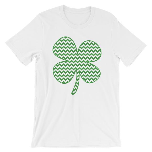 Chevron Clover Tee - MANY COLORS!